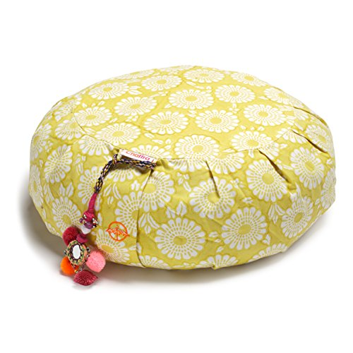 Chattra Citron Marigold Zafu Meditation / Yoga Cushion