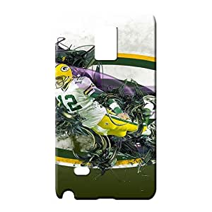 samsung note 4 Durability Personal stylish phone back shells green bay packers nfl football