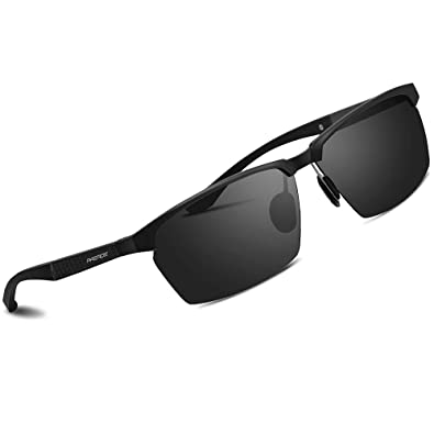 c8f51e34a PAERDE Mens Sports Polarized Sunglasses UV Protection Sunglasses for Men  PA09