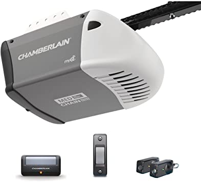 Chamberlain 1 2 Hp Heavy Duty Chain Drive Garage Door Opener Amazon Com