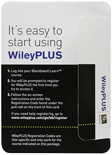 WileyPLUS Blackboard Card for Introduction to Information Systems: Supporting and Transforming Business (Introduction To Information Systems Supporting And Transforming Business)