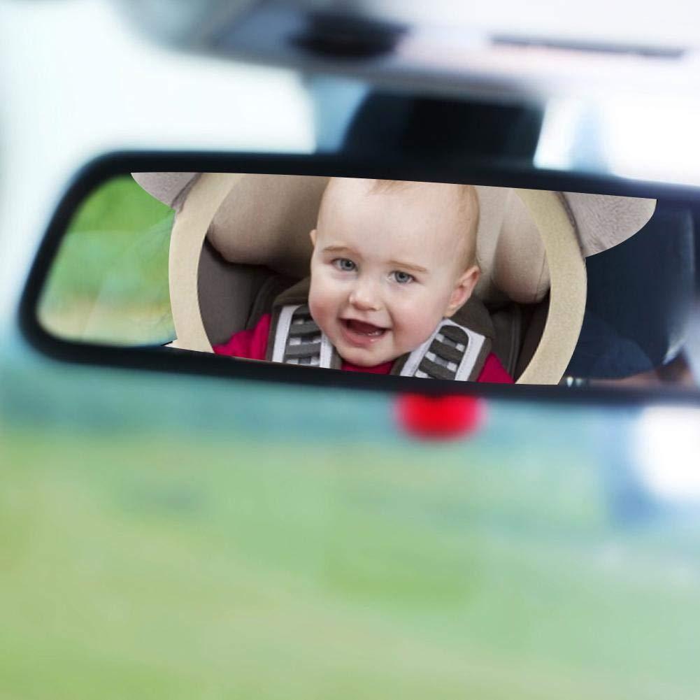 Elefant Gedruckt Auto R/ückspiegel Zubeh/ör Szseven F/ür Mama Beobachtet Den R/ücksitz des Babys Baby Autospiegel
