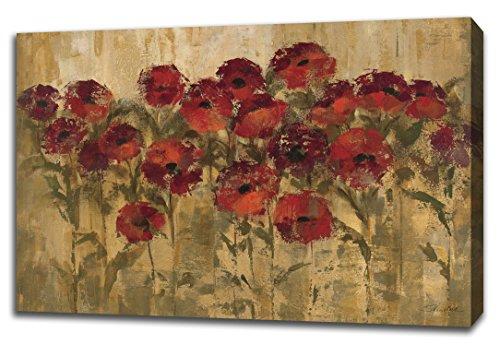 "Tangletown Fine Art Sunshine Florals by Silvia Vassileva, Digitally Printed Gallery Wrap Canvas Art Painting. 30""x45"" Wall from Tangletown Fine Art"