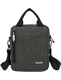Men's Small Nylon Travel School Work Cross body Everyday Messenger Bag Shoulder Bag
