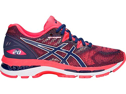 Print Black Print US Shoes Medium White Running Blue 12 20 Carbon ASICS Blue Nimbus Women's Gel nOxwqH1YZ