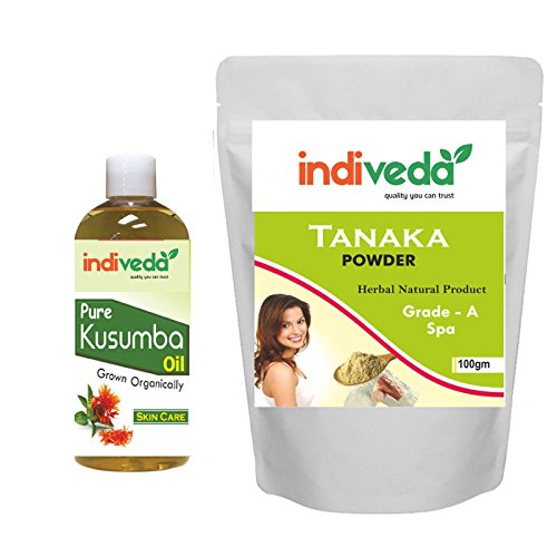 100gm Indiveda Pure Tanaka Thanaka Powder Kusumba Oil 200 Ml Permanent Hair Removal Buy Online In Congo Indiveda Products In Congo See Prices Reviews And