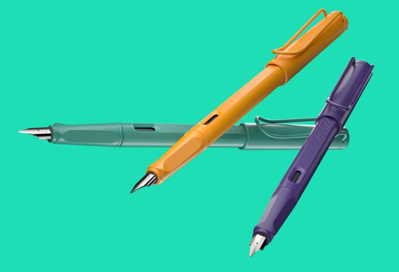 Lamy 021 Fountain Pen Safari Candy Aquamarine Nib F