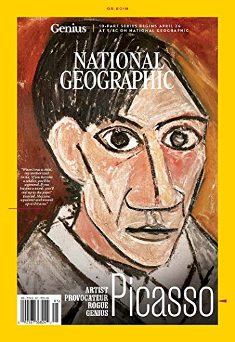 National Geographic Magazine (May, 2018) Genius: Picasso Cover