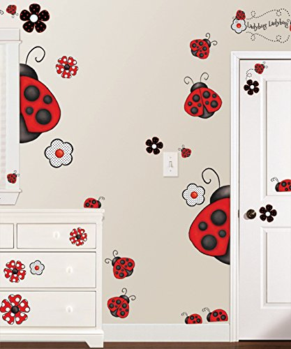 Borders Unlimited Ladybug Super Jumbo (Jumbo Wall Appliques)