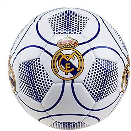 Real Madrid Balón de fútbol, número 3, Color Blanco, Talla 5 ...