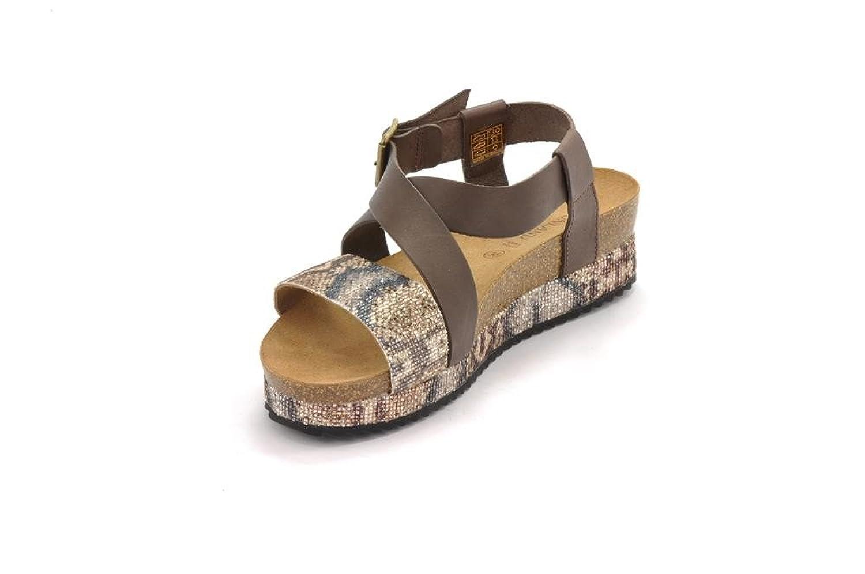 GRUNLAND SB0695 sime Sandalo Donna P. Testa di Moro 36