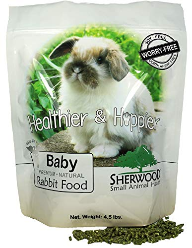 Sherwood Pet Health Rabbit Food, Baby, 4.5 lb. - (Soy, Corn & Wheat-Free) - (Vets Use)