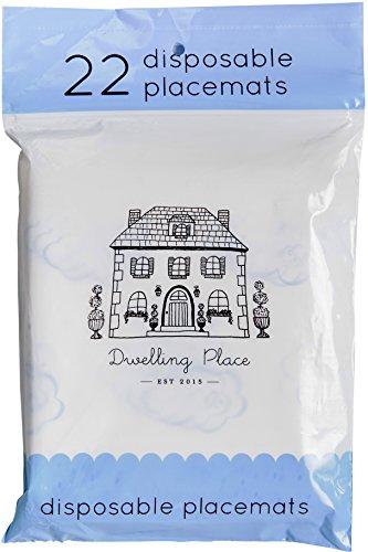 Premium CHIC Disposable Placemats 66 Count