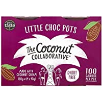 The Coconut Collaborative Dairy Free Milk Chocolate Ganache Pots - 4 x 45g