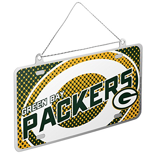 Green Packers Ornaments Bay - Green Bay Packers 2015 Metal License Plate Ornament