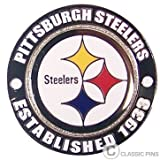 Pittsburgh Steelers Circle Pin - est. 1933