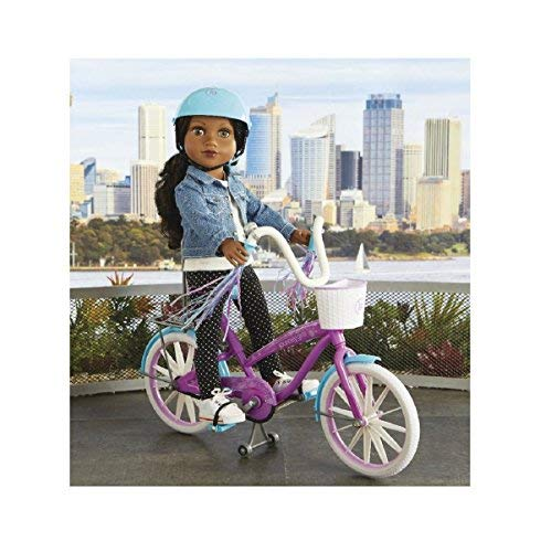 "Journey Girls Cruiser Bike for 18"" Dolls (Doll Not Included)"