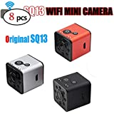 elegantstunning Mini WiFi Camera HD 1080P Waterproof Shell CMOS Sensor Night Vision Recorder Camcorder (8pcs)