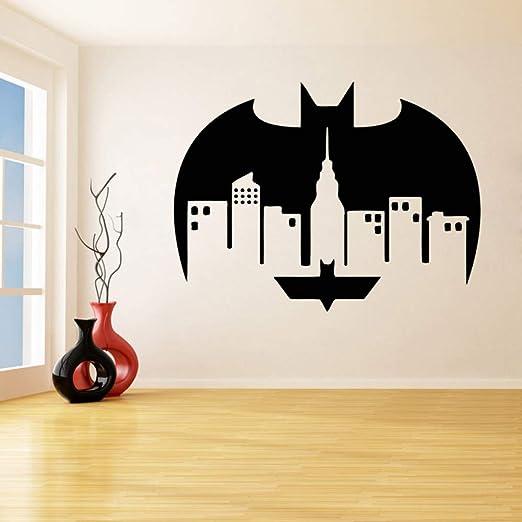 Superhéroe Logo Extraíble Pegatinas de Pared para la Sala de ...