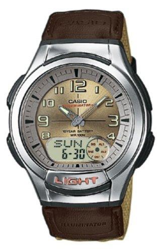 CASIO AQ-180WB-5BVEF - Reloj analógico y digital de cuarzo con correa de