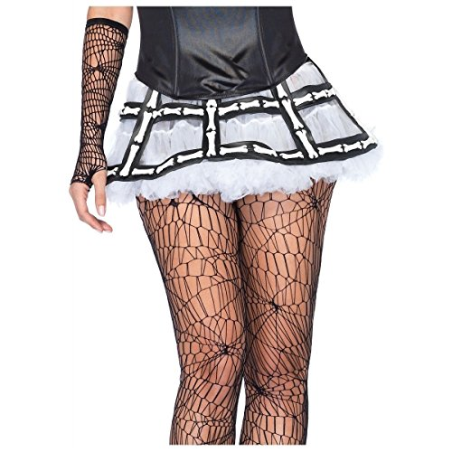[Rubber Bone Cage Skirt Costume - One Size - Dress Size 6-12] (Musketeer Costume Female)