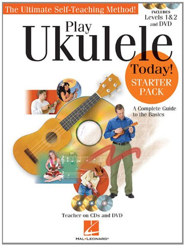 Play Ukulele Today! - Starter Pack: Includes Levels 1 & 2 Book/CDs and a DVD (Play Ukulele Today)