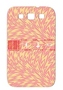 Miscellaneous Barcode Sex Identification Funny Red Sex Barcode Protective Case For Sumsang Galaxy S3 TPU