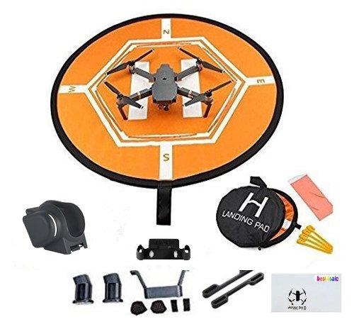 DJI Mavic Pro Collapsible Quadcopter Drone Bundle with Landing Combo Kit by DJI
