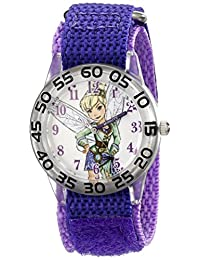 Disney Kids' W001678 Tinker Bell Analog Display Analog Quartz Purple Watch