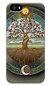 ZhouBrand Cool Painting Slim PC Snap on Hard Phone Cover Fit For Iphone 5 5s