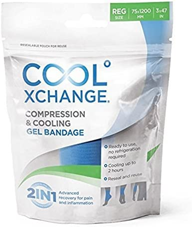 Cool XChange Compression and Cooling Gel Bandage Cold Pack ...