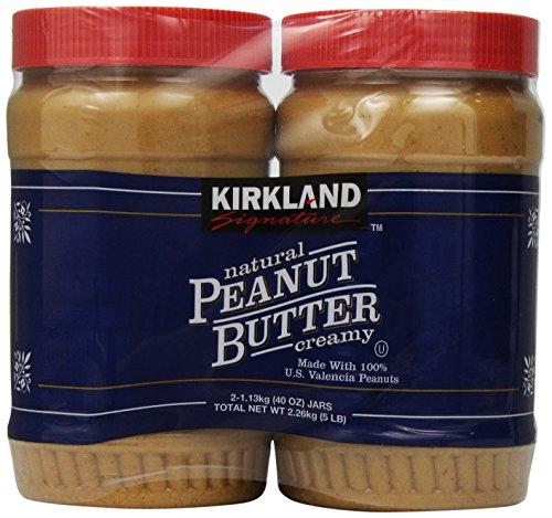 Kirkland Natural Peanut Butter-40 oz, 2 ct