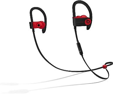 Amazon Com Powerbeats3 Wireless Earphones Apple W1 Headphone Chip Class 1 Bluetooth 12 Hours Of Listening Time Sweat Resistant Earbuds Defiant Black Red