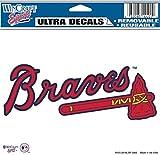 "MLB Atlanta Braves Multi-Use Colored Decal, 5"" x 6"""