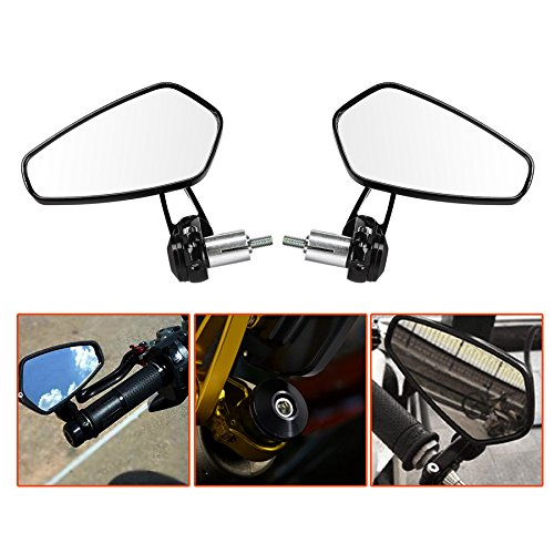 Handlebar End Mirrors - 7