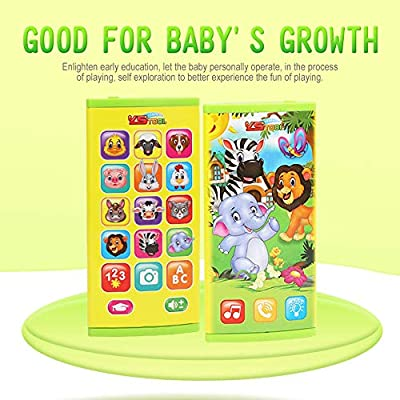 Baby Funny Phone Toy Music Learning Animal Chat Count Smart Phone Education Toy
