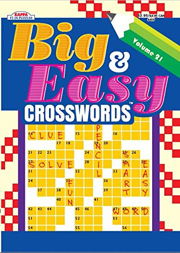 letter after kappa crossword big amp easy crosswords puzzle book volume 21 media books 22761