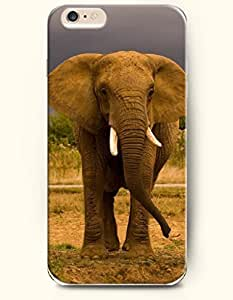 OFFIT iPhone 6 Plus Case 5.5 Inches An Elephant Looking somewhere by supermalls