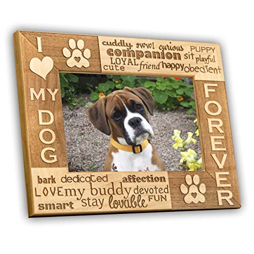 I Love My Dog 5 X 7 Picture Frame