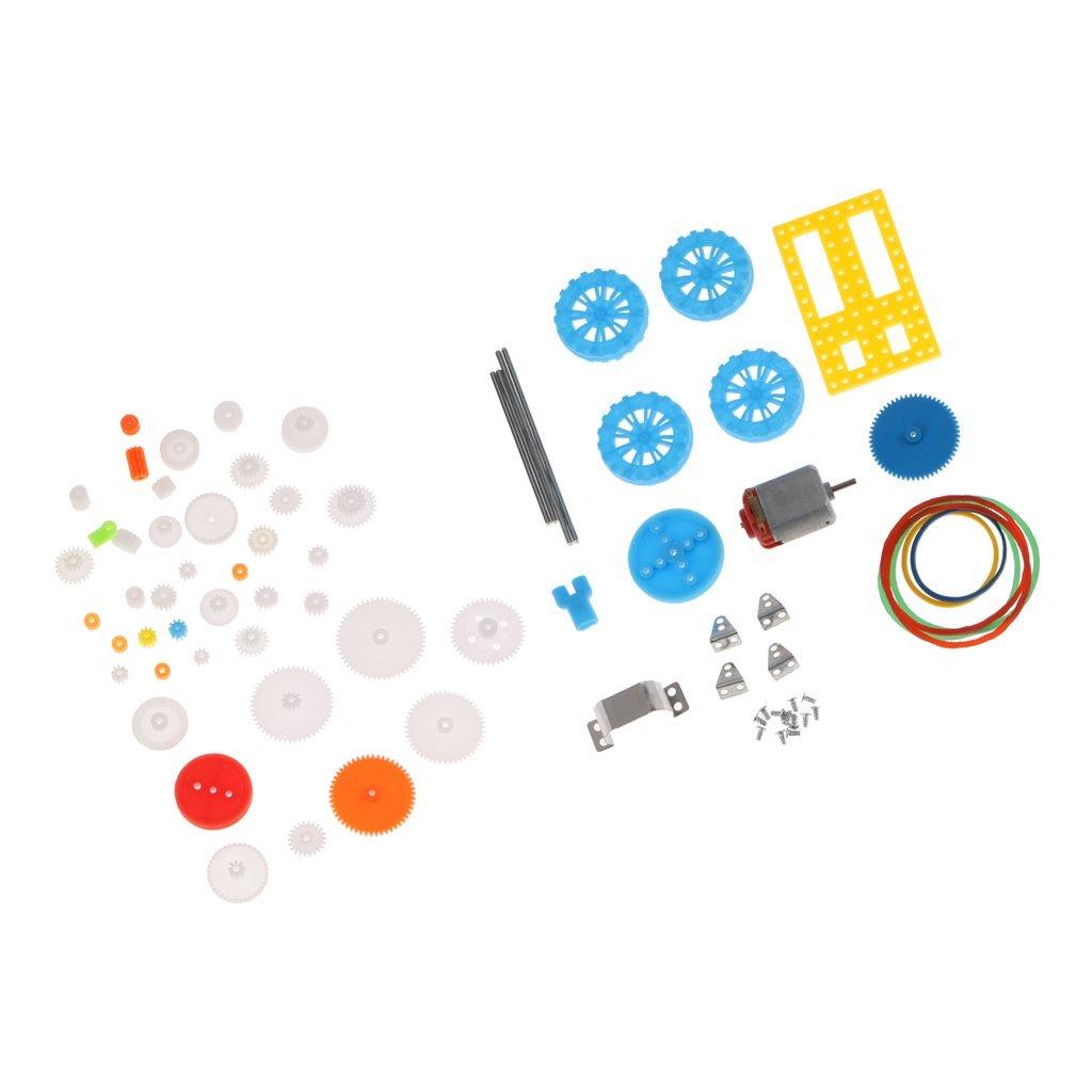 Buy Homyl 50 Kinds 2mm Hole Belt Pulley Gears Package 130