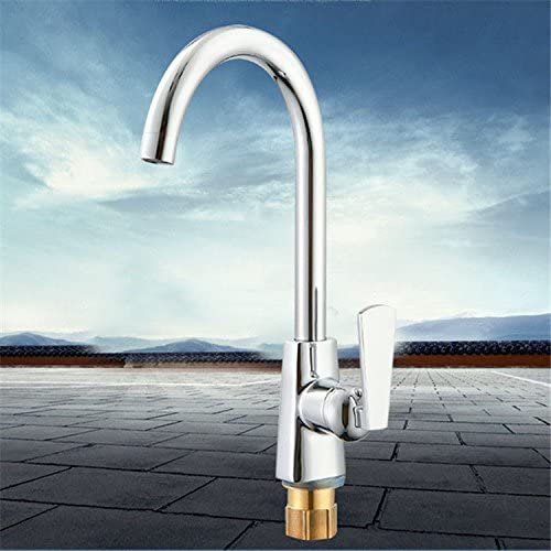 Lytor Contemporary Solid Brass Hot And Cold Water Kitchen Sink Mixer Tap Sink Mixer Sink Faucet Whole Kitchen Sink Tap Amazon Com