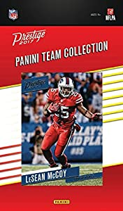 Buffalo Bills 2017 Prestige Factory Sealed Team Set with Tyrod Taylor and Sammy Watkins plus Rookies