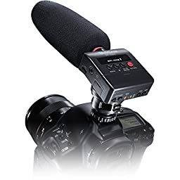 Tascam DR-10SG Camera-Mountable Audio Recorder with Shotgun Microphone and 1 Year Free Extended Warranty