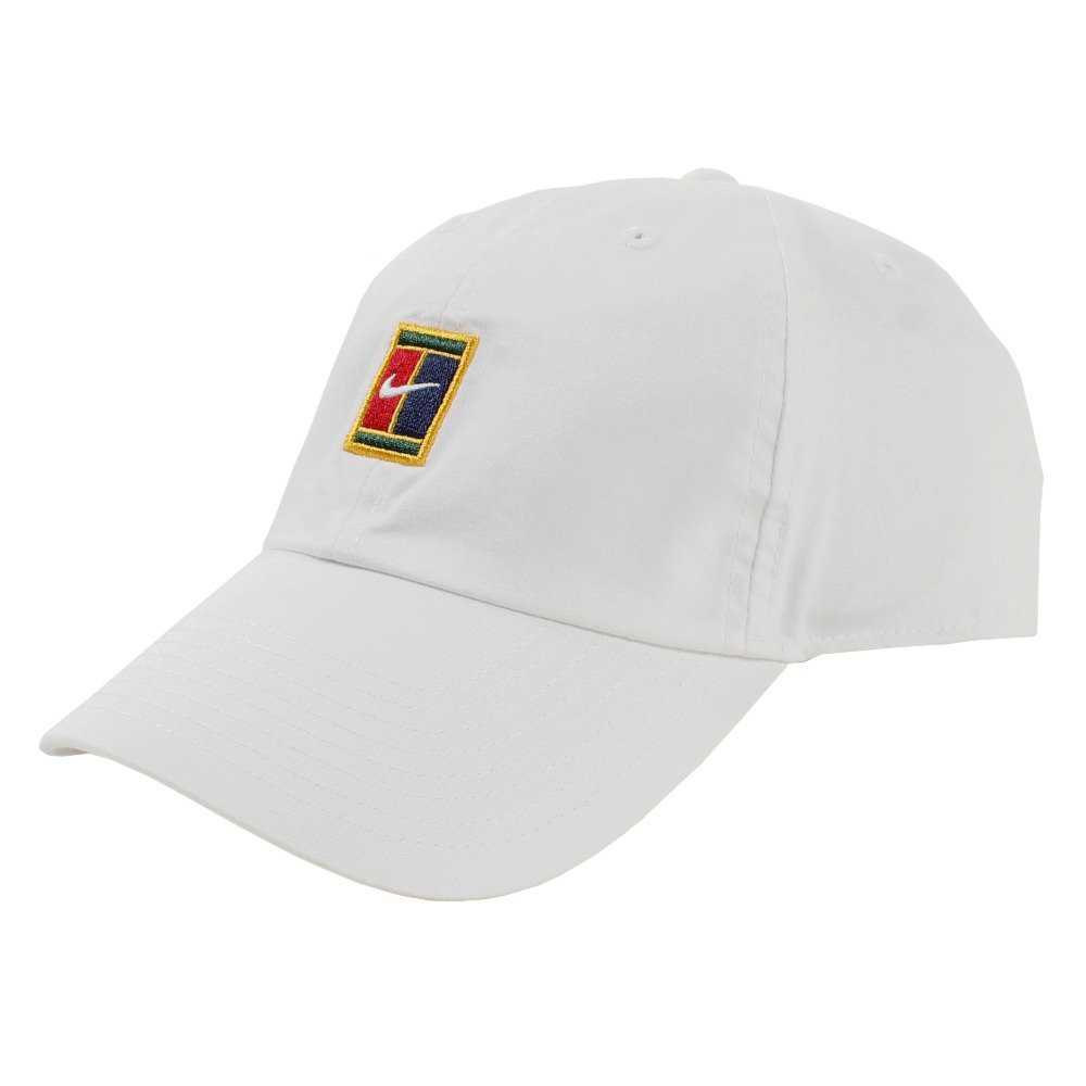 b802bfa4370dd Nike Heritage86 Court Logo White Cap (852184-100)  Amazon.in  Clothing    Accessories
