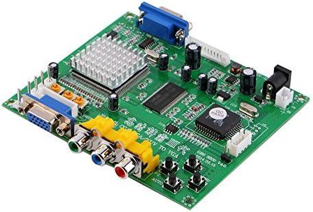 Atomic Market RGB//CGA//EGA//YUV to VGA HD Video Converter Board HD9800//GBS8200 for Arcade Green