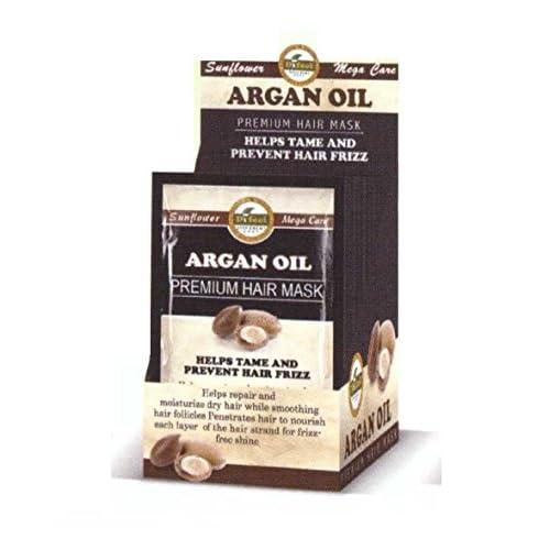 Nice Difeel Premium Hair Mask - Argan Oil 1.75 oz. (Pack of 4)