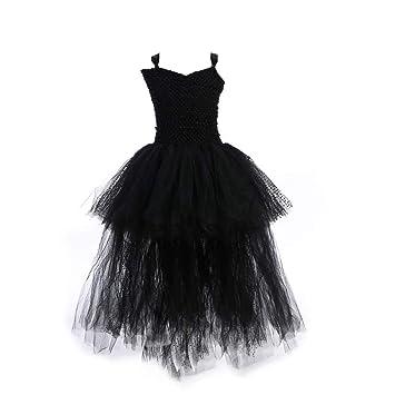 QSEFT® - Vestido tutú de tutú para niñas con Cuello en V para la Noche 4b858cfc350