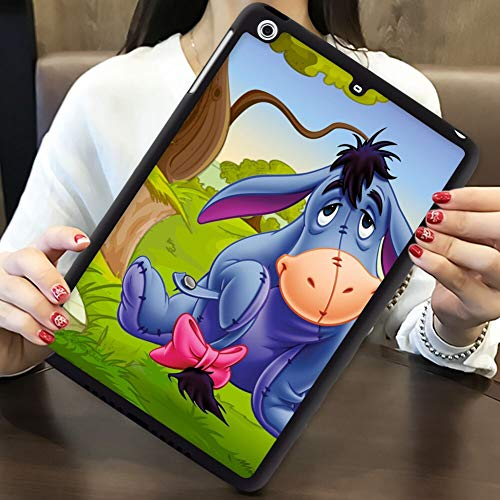 DISNEY COLLECTION Cover Fit iPad Pro 2018 9.7 Inch Eeyore Gray Donkey Winnie The Pooh Cartoons HD Wallpaper for Desktop