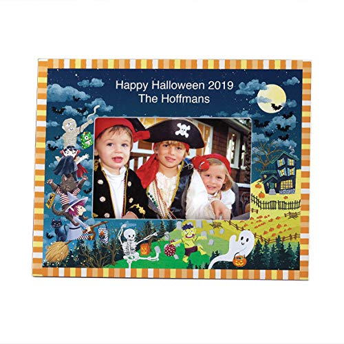 Exposures Personalized Haunted Party Halloween Frame, Add a Name or Initial for $<!--$24.99-->