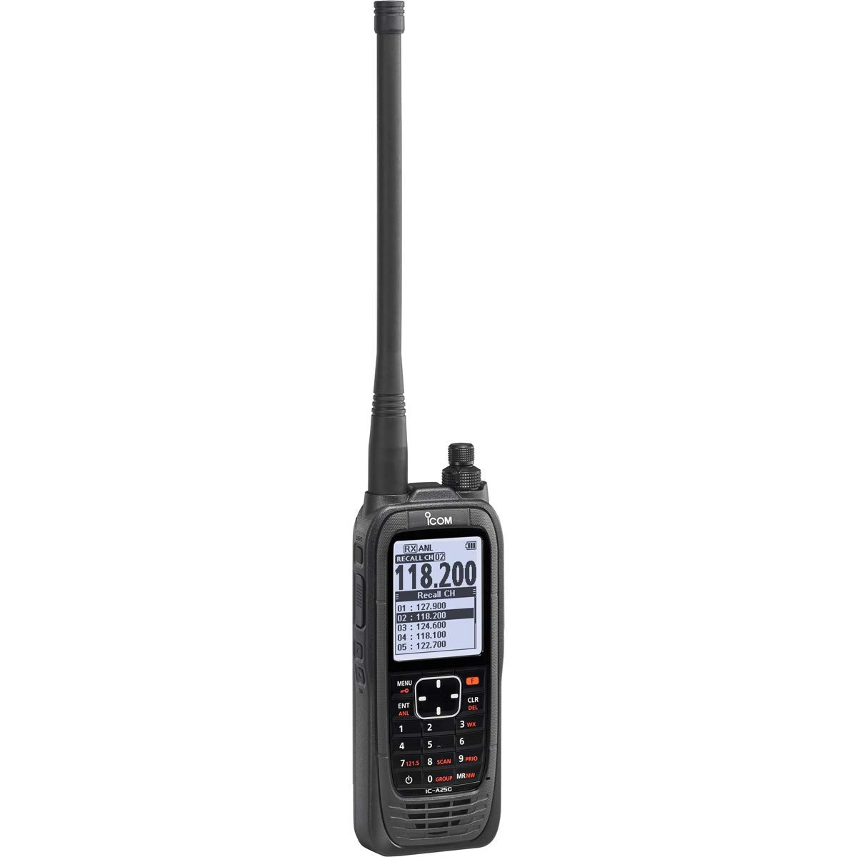 Icom IC-A25C Sport VHF Airband Transceiver COM Channels